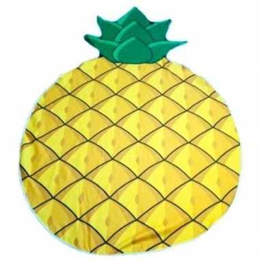 Goedkope strandlaken/badlaken ananas