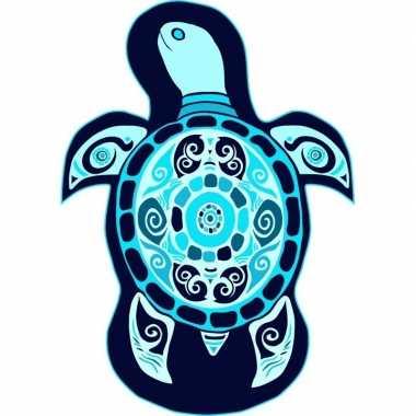 Goedkope strandlaken/badlaken schildpad lorga