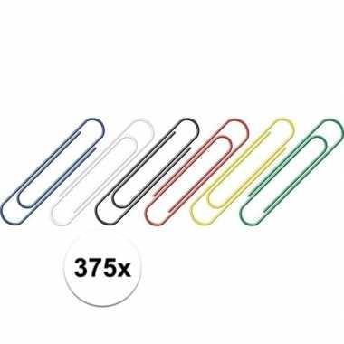 Goedkope stuks gekleurde paperclips mm