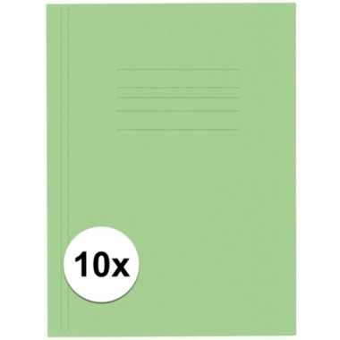 Goedkope stuks kangaro dossiermap groen