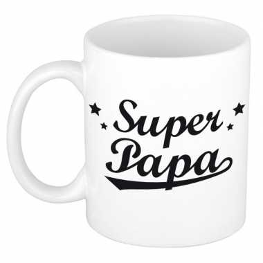 Goedkope super papa mok / beker vaderdag