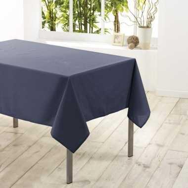 Goedkope tafelkleed/tafellaken antraciet grijs textiel/stof