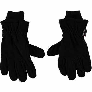 Goedkope thermo handschoenen zwart heren