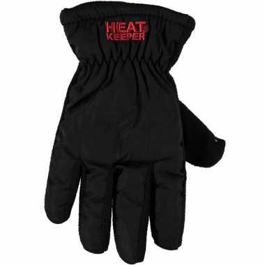 Goedkope thermo mega handschoenen zwart dames