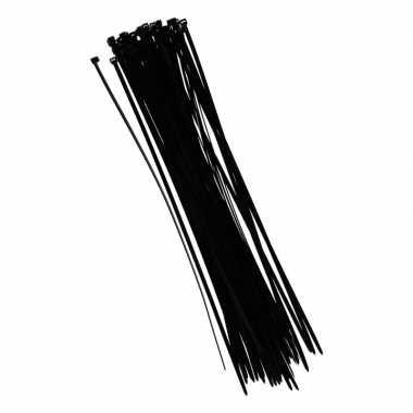 Goedkope tie wraps zwart stuks