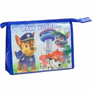 Goedkope toilettas paw patrol blauw , kinderen