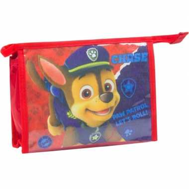 Goedkope toilettas paw patrol rood , kinderen