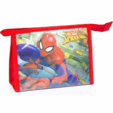 Goedkope toilettas spiderman rood , kinderen