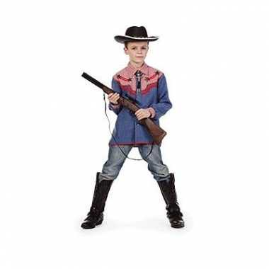 Goedkope toppers cowboy blouse kinderen