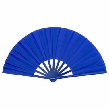 Goedkope toppers handwaaier spaans blauw