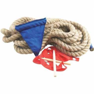 Goedkope touwtrekken spel meter touw