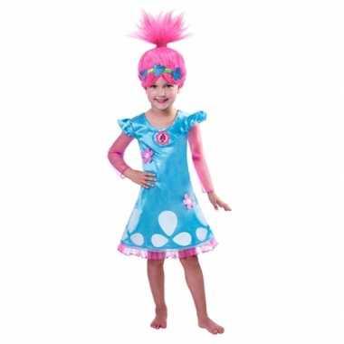 Goedkope trolls poppy kostuum meiden