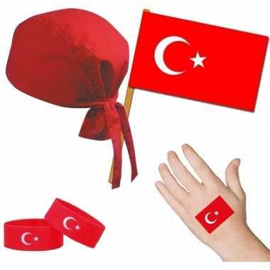 Goedkope turkije/turks thema verkleed set volwassenen