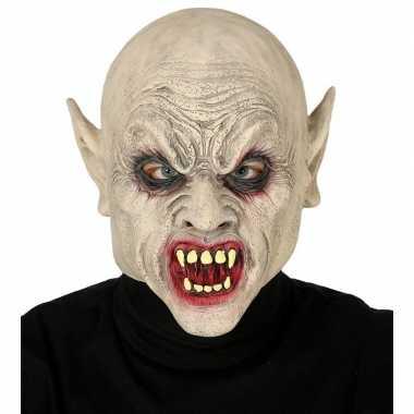 Goedkope vampier/zombie horror masker latex