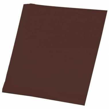 Goedkope vellen bruin a hobby papier