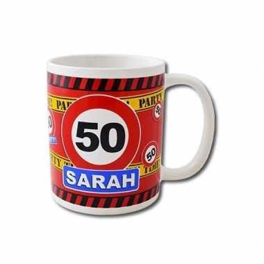 Goedkope verjaardag jaar sarah mok / beker