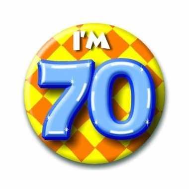 Goedkope verjaardags button i am