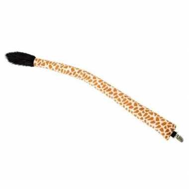 Goedkope verkleed/speelgoed giraffen staart