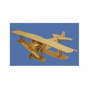 Goedkope vliegtuig bouwpakket fokker