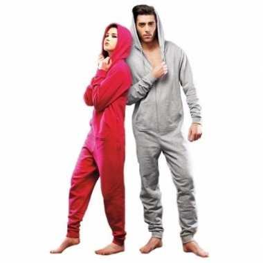 fd728f060c5 Goedkope warme onesie/jumpsuit lichtgrijs heren | Goedkope.info