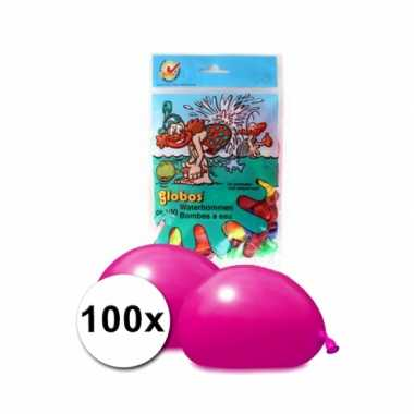 Goedkope waterballonnen gekleurd stuks