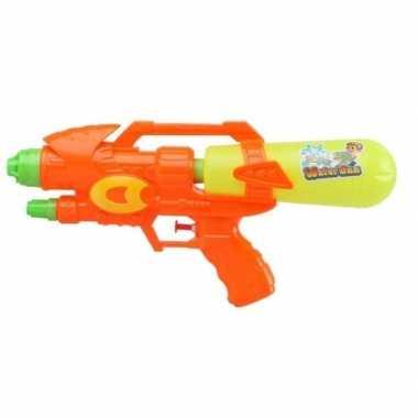 Goedkope waterpistool oranje/geel