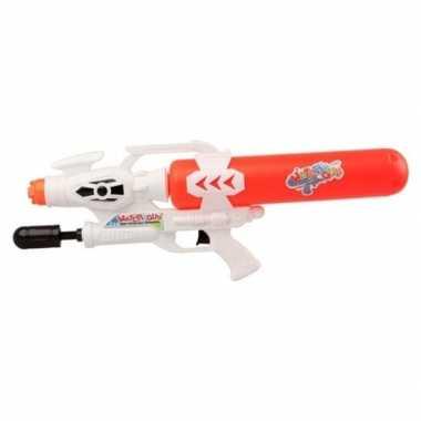 Goedkope waterpistool pomp wit/rood