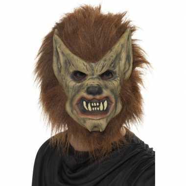 Goedkope weerwolf masker latex