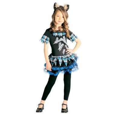 Goedkope weerwolf verkleedkostuum meisjes weerwolvenpak