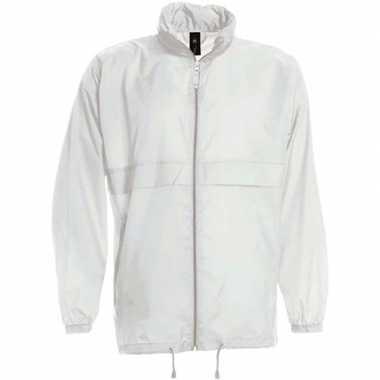 Goedkope windjas/regenjas jongens wit