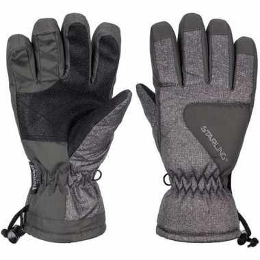 Goedkope winter handschoenen starling riva grijs/antraciet kinderen