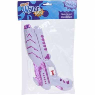 Goedkope wit/roze waterpistool
