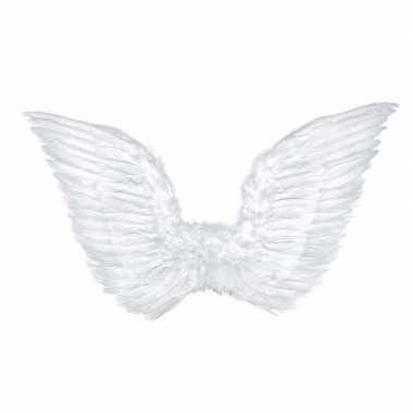 Goedkope witte engelen verkleed vleugels