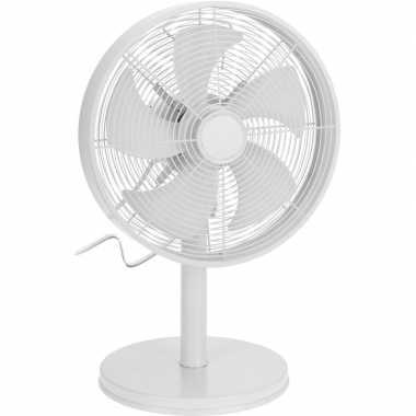 Goedkope witte luxe tafel ventilator