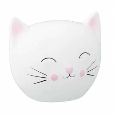 Goedkope witte spaarpot kattenhoofd