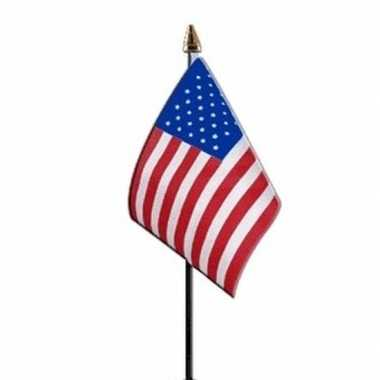 Goedkope x amerika/usa mini vlaggetjes stok