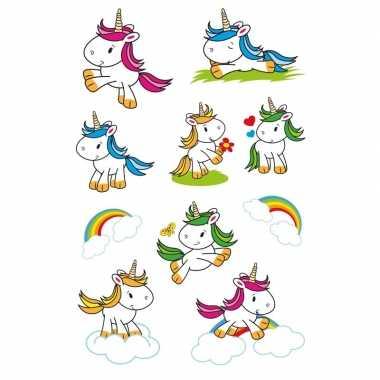 Goedkope x baby eenhoorn dieren stickers glitters