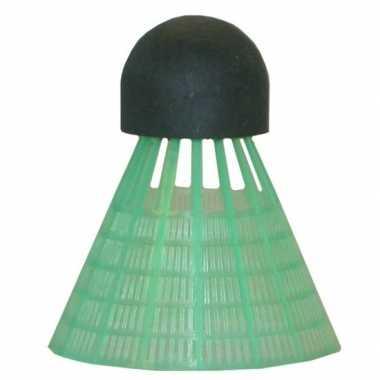 Goedkope x badminton shuttles groen