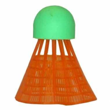Goedkope x badminton shuttles oranje