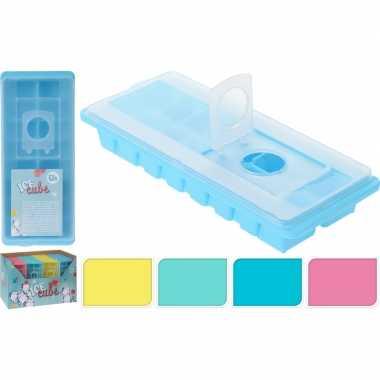 Goedkope x blauwe ijsblokjes maker deksel