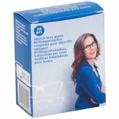 Goedkope x brillendoekjes/brillenpoetsdoekjes