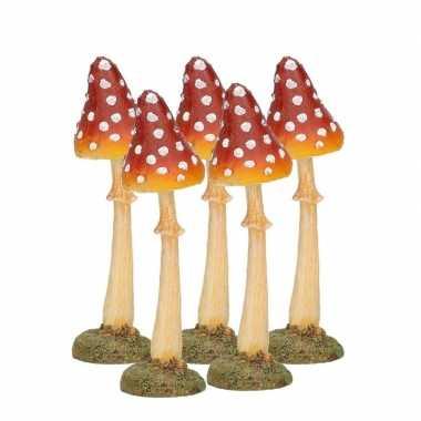 Goedkope x decoratie paddenstoel vliegenzwam