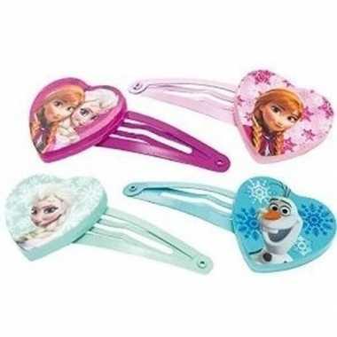Goedkope x disney frozen haarclips meisjes