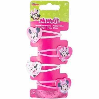 Goedkope x disney minnie mouse haarclips meisjes
