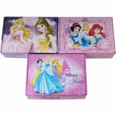 Goedkope x disney princess opbergboxen/opbergdozen karton