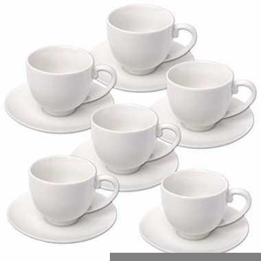 Goedkope x espresso koffiekopjes schotels set