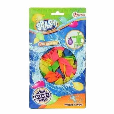 Goedkope x gekleurde waterballonnen speelgoed