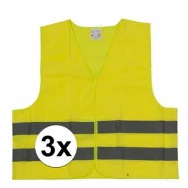 Goedkope x gele veiligheidsvesten kinderen