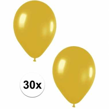 Goedkope x gouden metallic ballonnen
