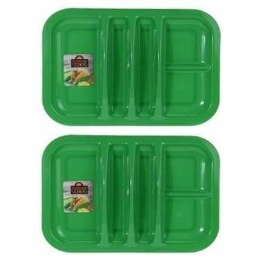 Goedkope x groene barbecue borden vaks